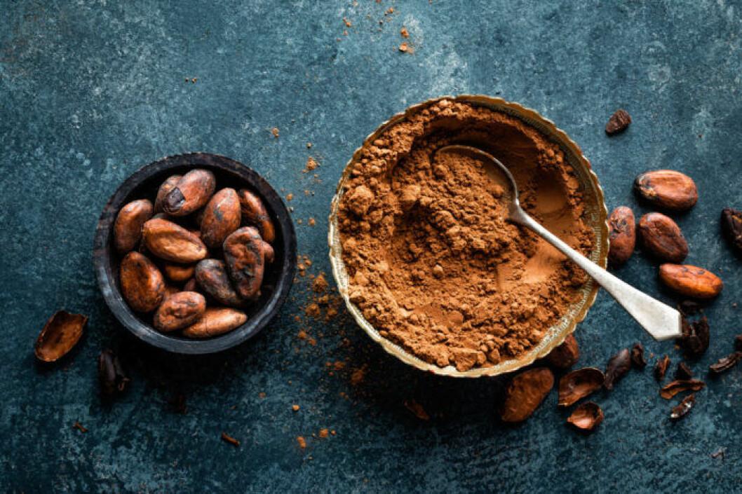 Kakao bidrar med massor av antioxidanter.