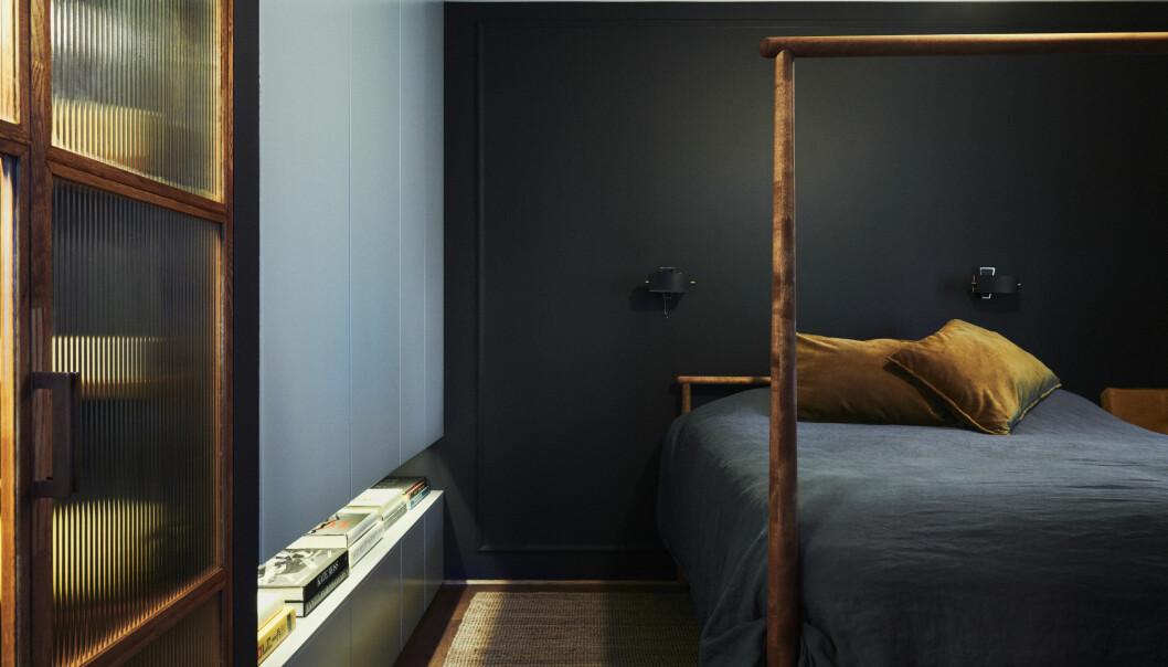 Hemma hos fotografen Kalle Gustafsson sovrum