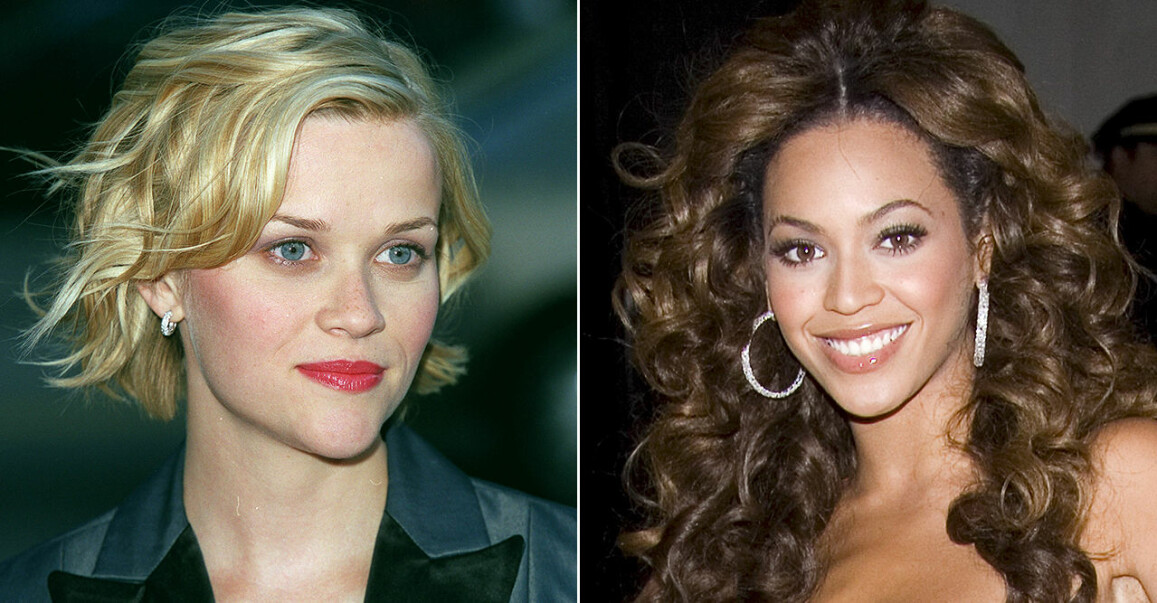 Reese Witherspoon och Beyoncé