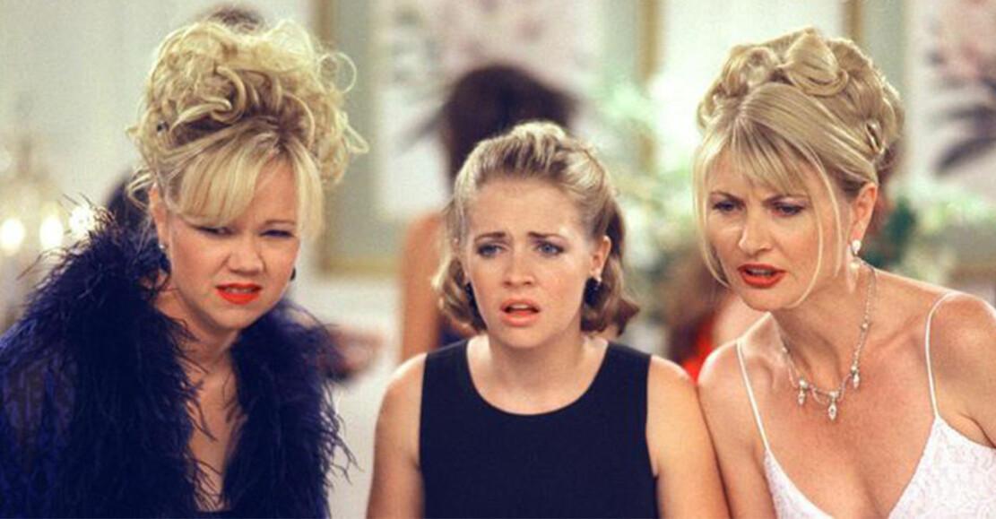 sabrina tonårshäxan och hennes fastrar Zelda och Hilda