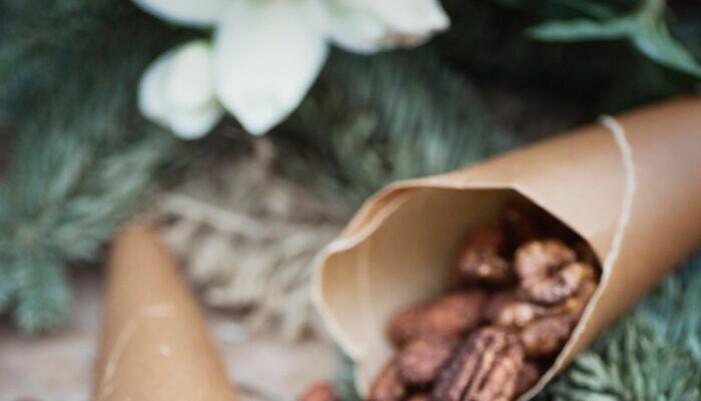 Recept på kanel- och chilikryddade julnötter