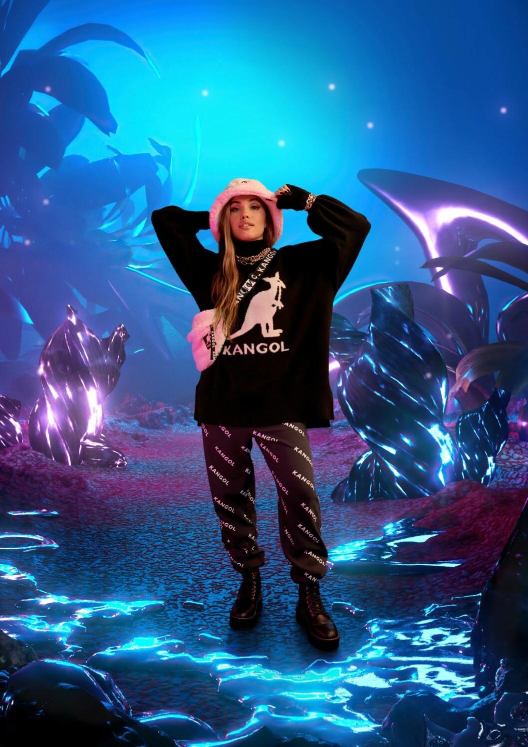 Kangol x H&M feat. Mabel samarbetet