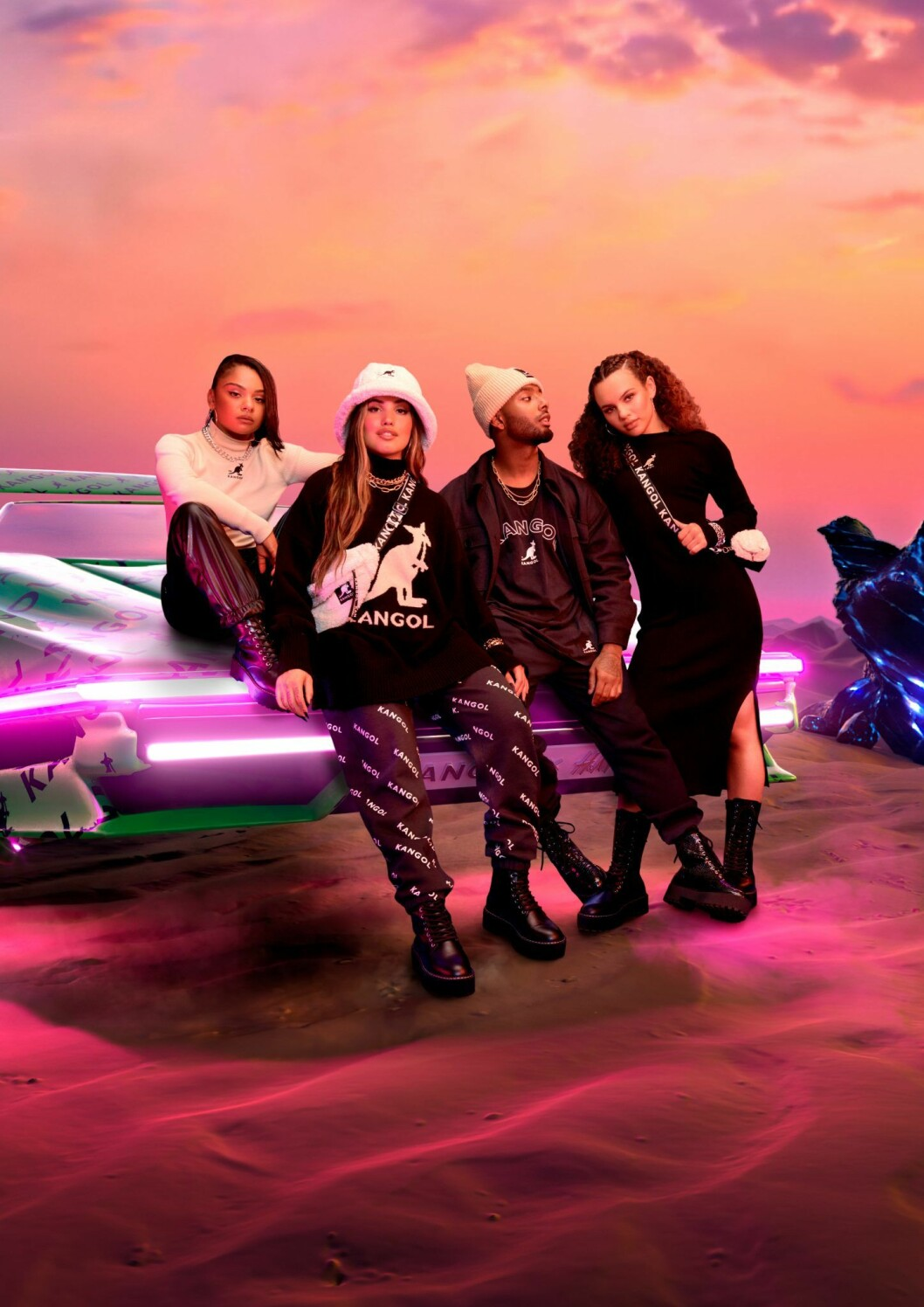Kangol x H&M feat. Mabel