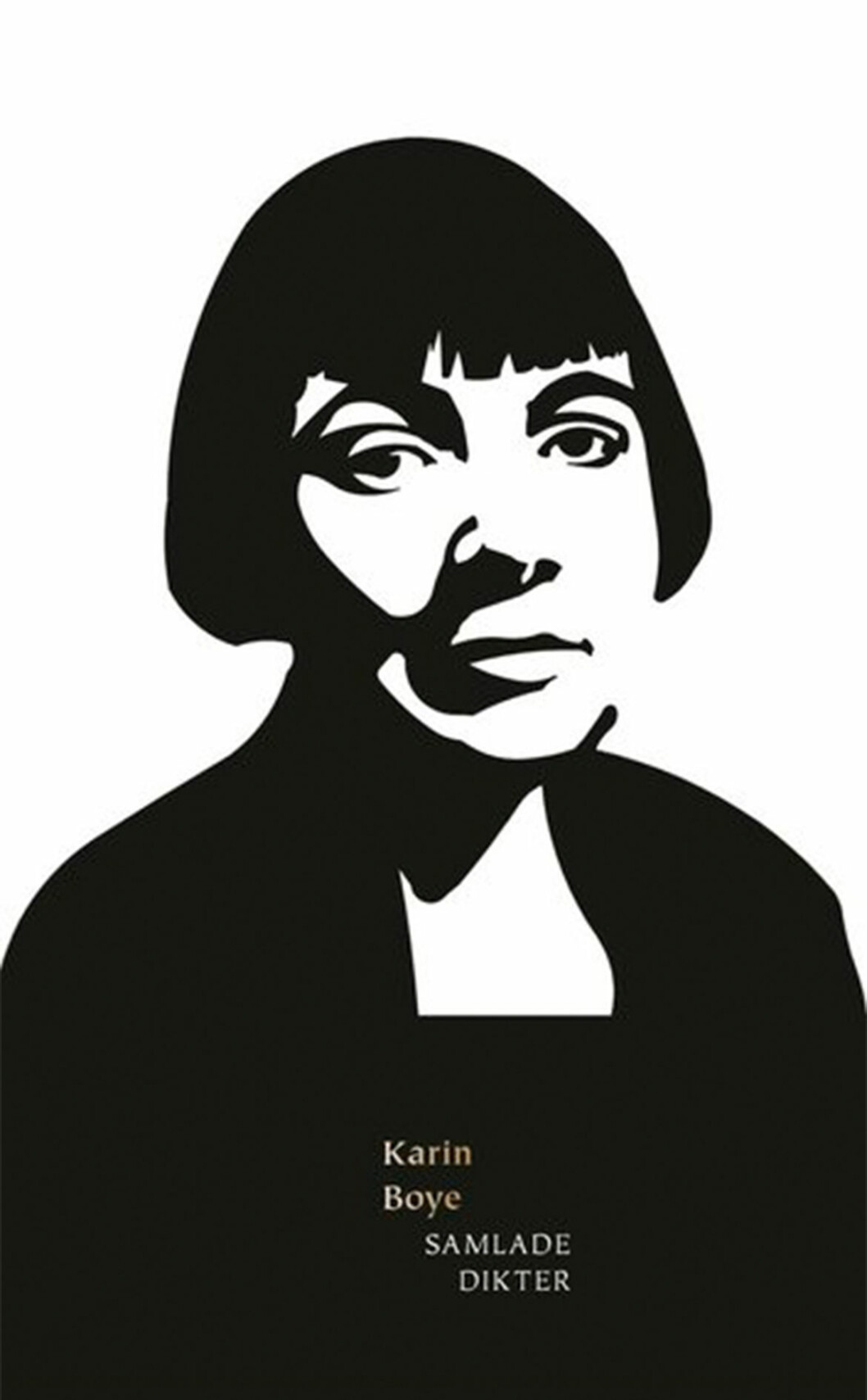 Bokomslag till Karin Boye samlade dikter, Illustration av Karin Boye.