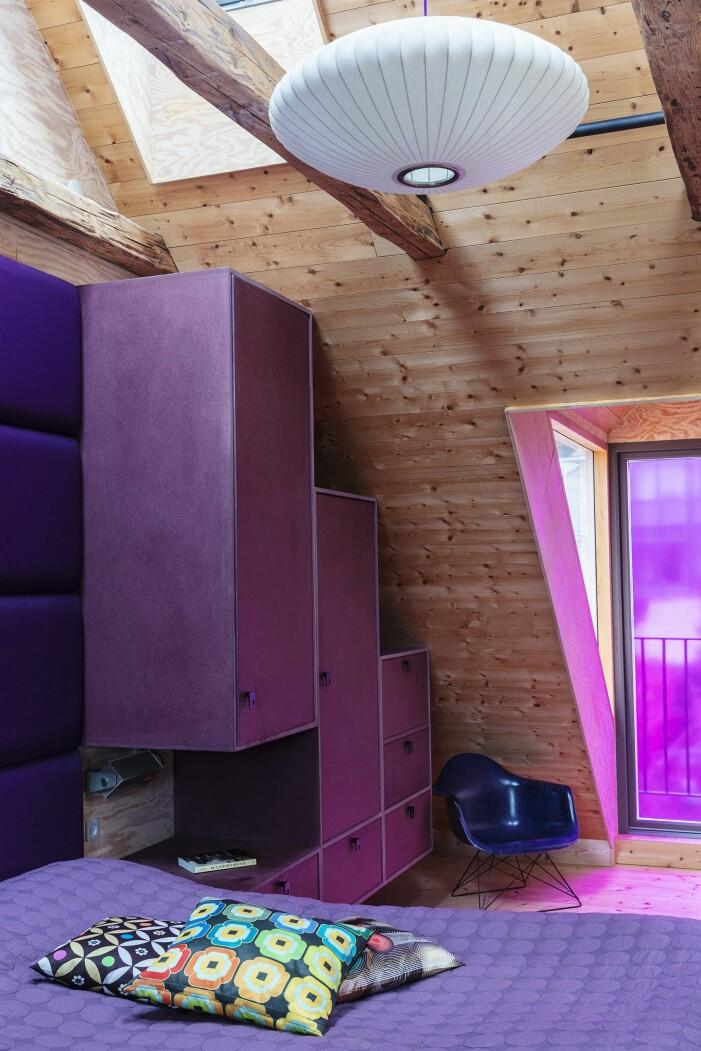 Hemma hos Karsten Lulloff Köpenhamn sovrum