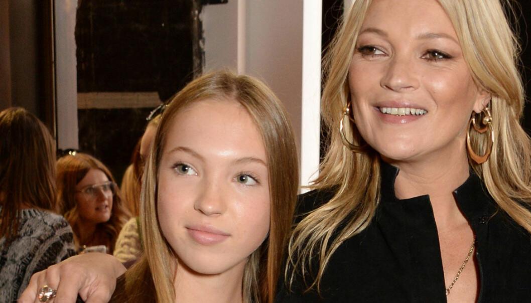 Kate Moss dotter Lila