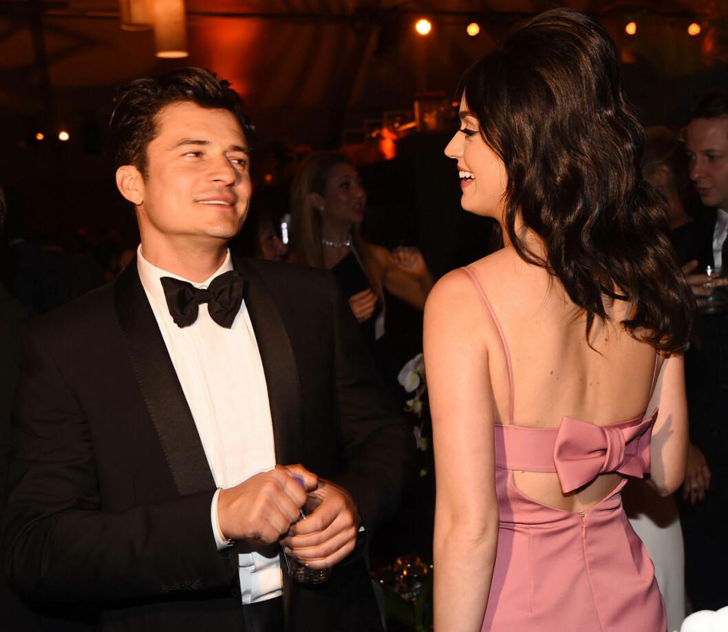 Första bilderna på Katy Perry och Orlando Bloom på efterfest ihop.