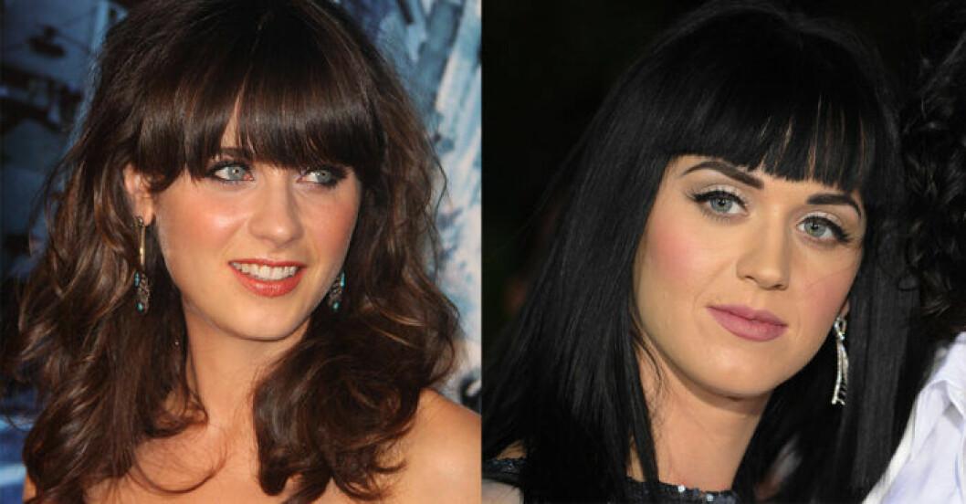 Katy Perry Zooey Deschanel
