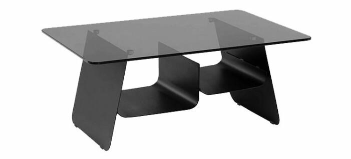svart soffbord med förvaring