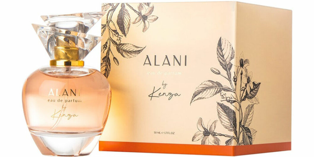 Kenza släpper parfym -vid namn alani