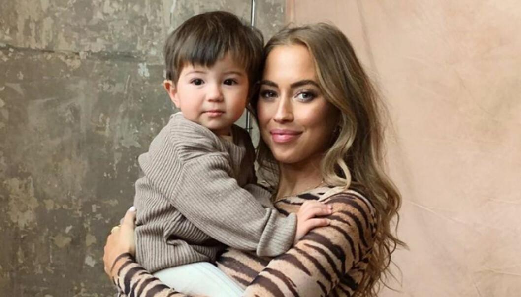 Kenzas vädjan till andra mammor – 2 månader innan förlossning.