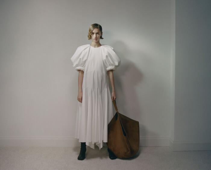 Khaite klänning med volym