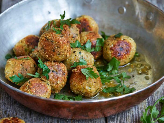 Recept på quinoa- och kikärtsbollar
