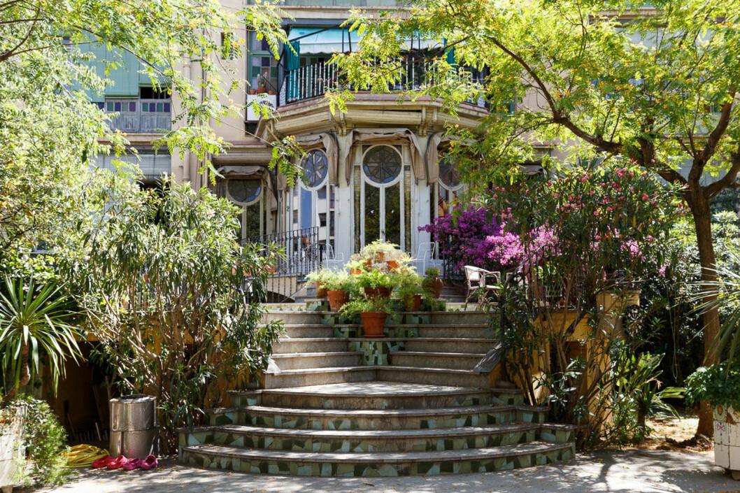 Bild utifrån huset där Villanelle bor i Killing Eve