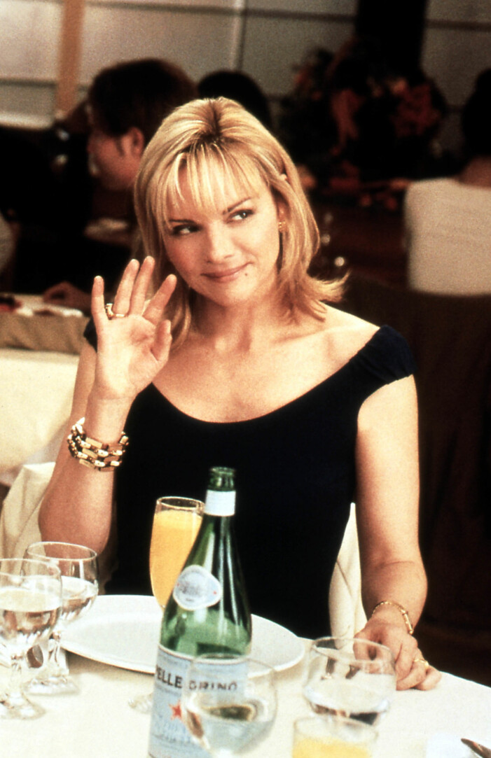 kim cattrall som samantha jones