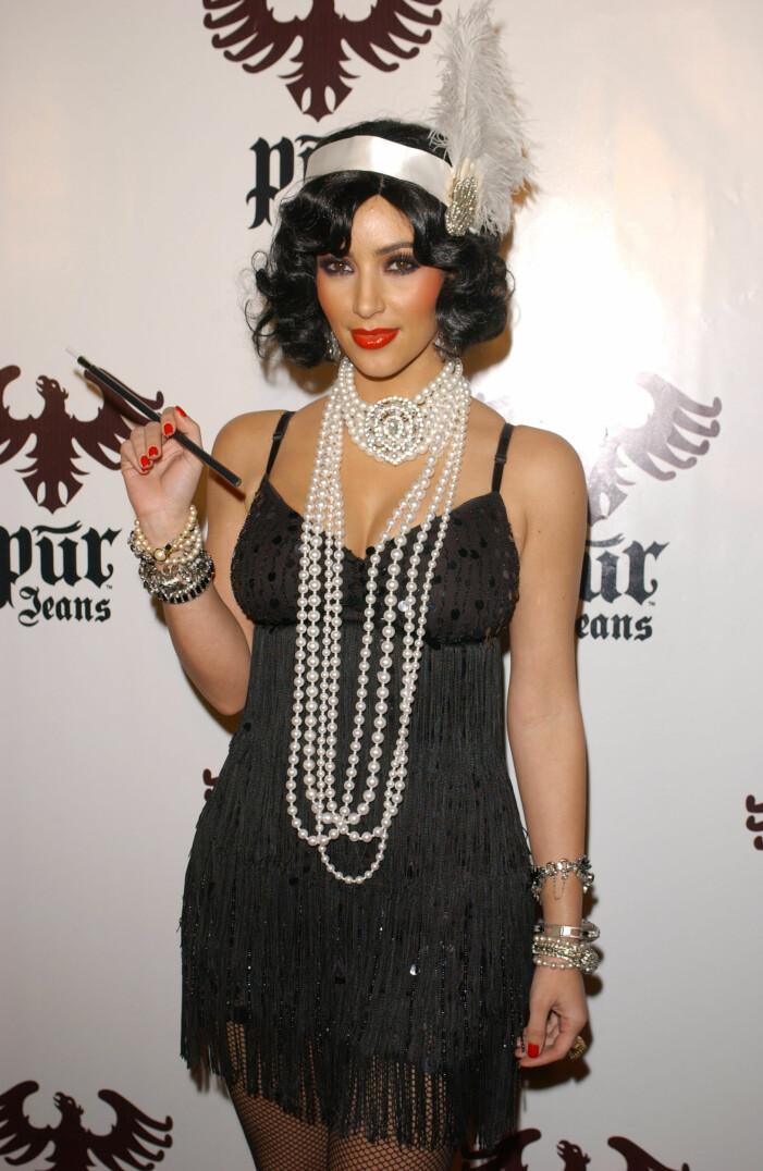 Kim Kardashian halloween 2008