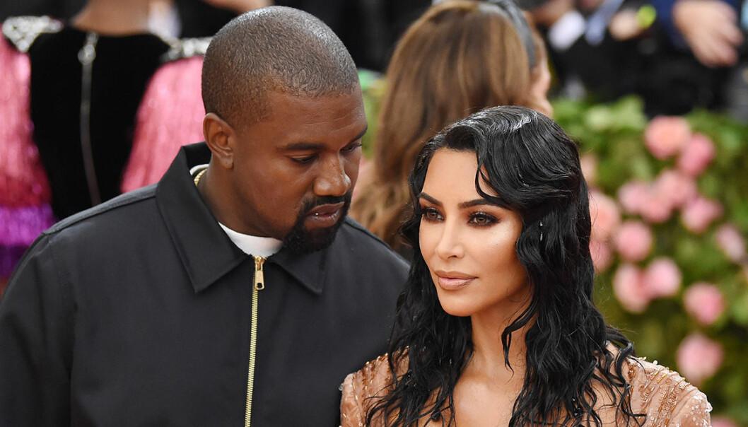Tidigare superparet Kim Kardashian och Kanye West.