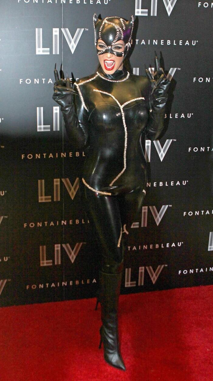 Kim Kardashian catwoman