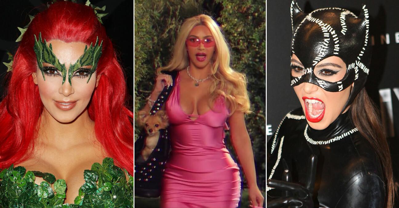 Kim Kardashian halloweenkostymer