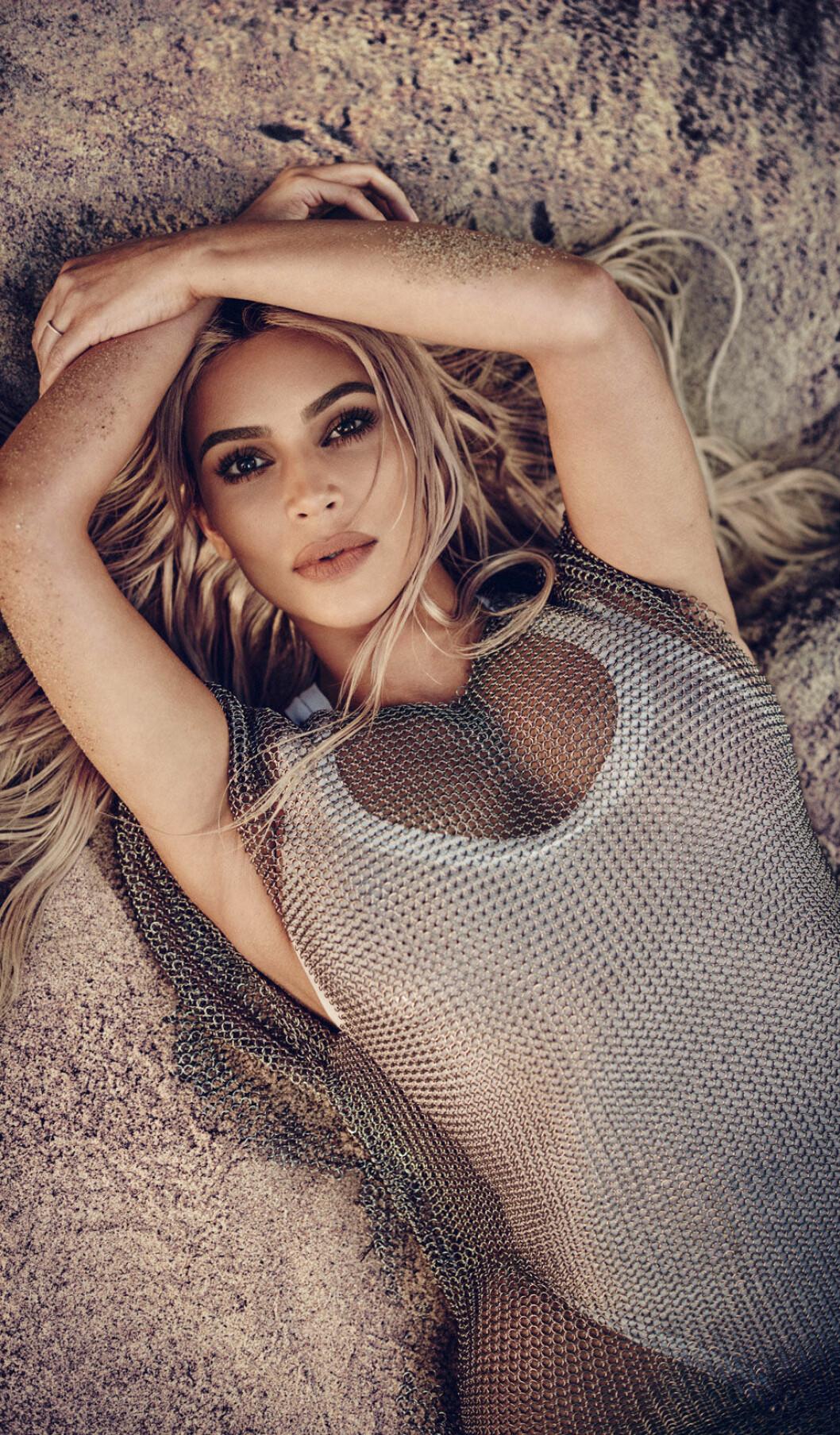 I en intervju med ELLE berättar Kim Kardashian om sina skönhetsbehandlingar.