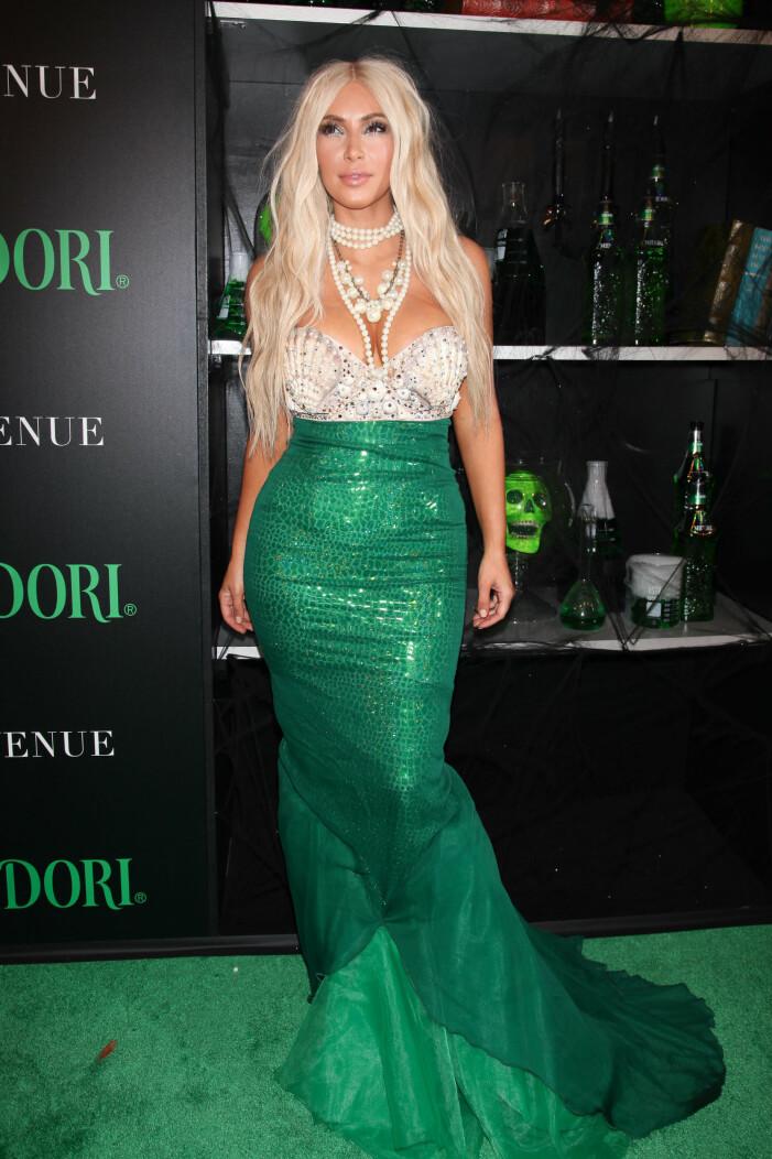 Kim Kardashian mermaid