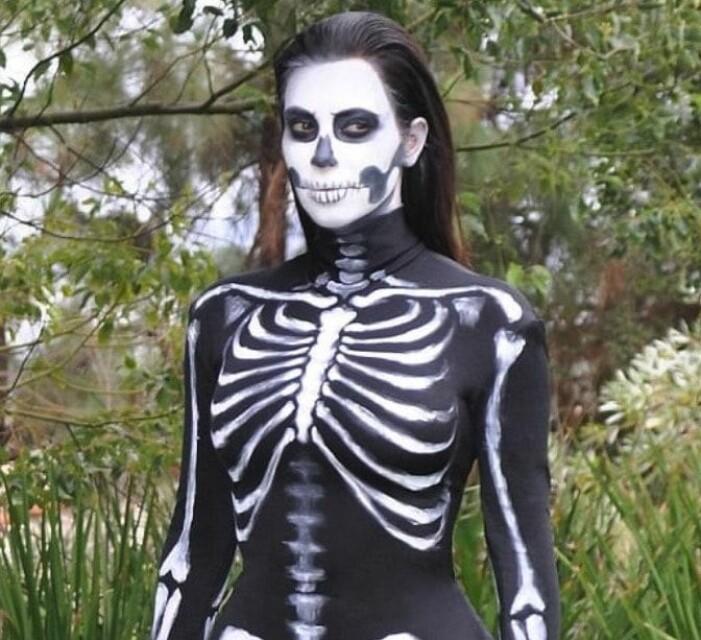 Kim Kardashian skelett
