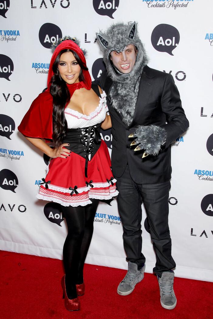 Kim Kardashian halloweenkostym 2010