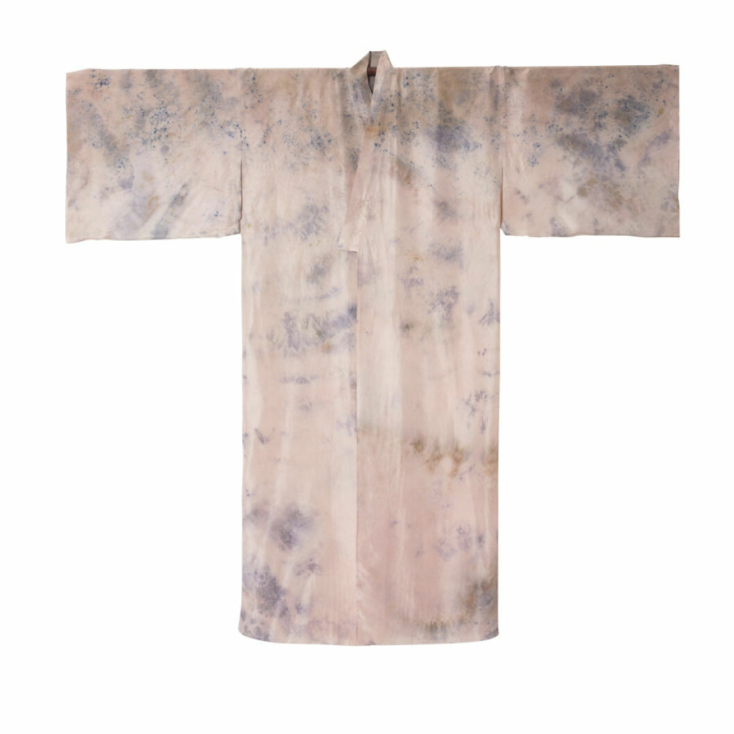 Kimono kan bli en del av inredningen.