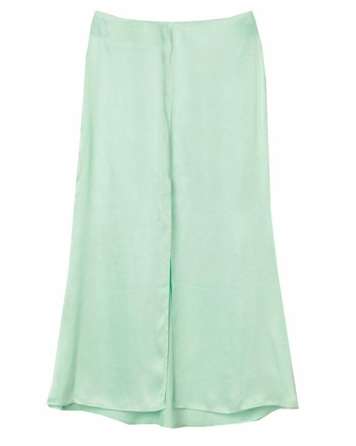 mintgrön kjol