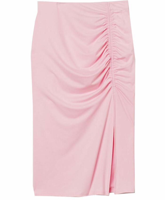 rosa kjol slits