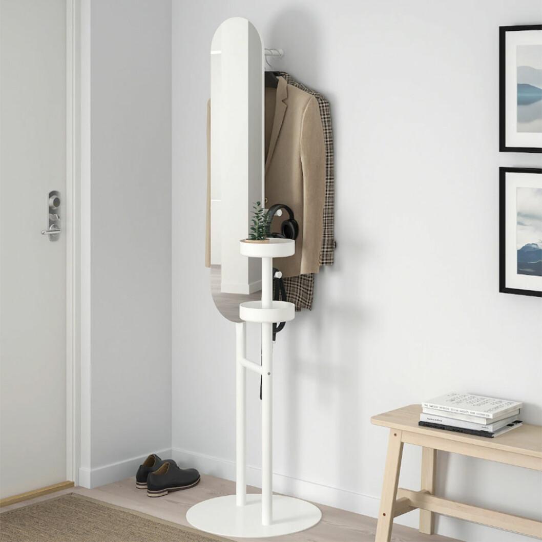 Compact living klädbetjänt från Ikea