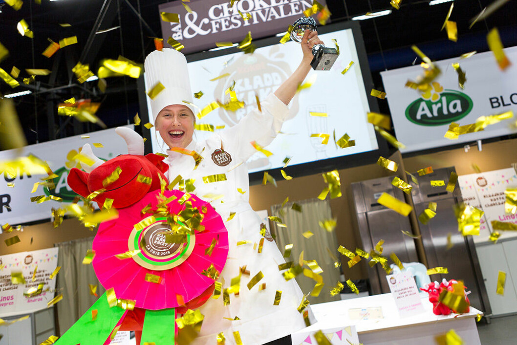 Miranda Westerlind bakade Sveriges godaste kladdkaka 2016.