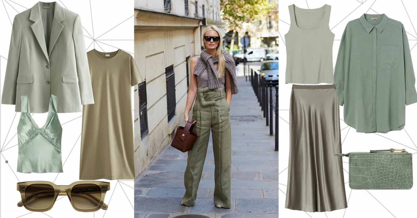 gröna kläder sommaren och hösten 2021