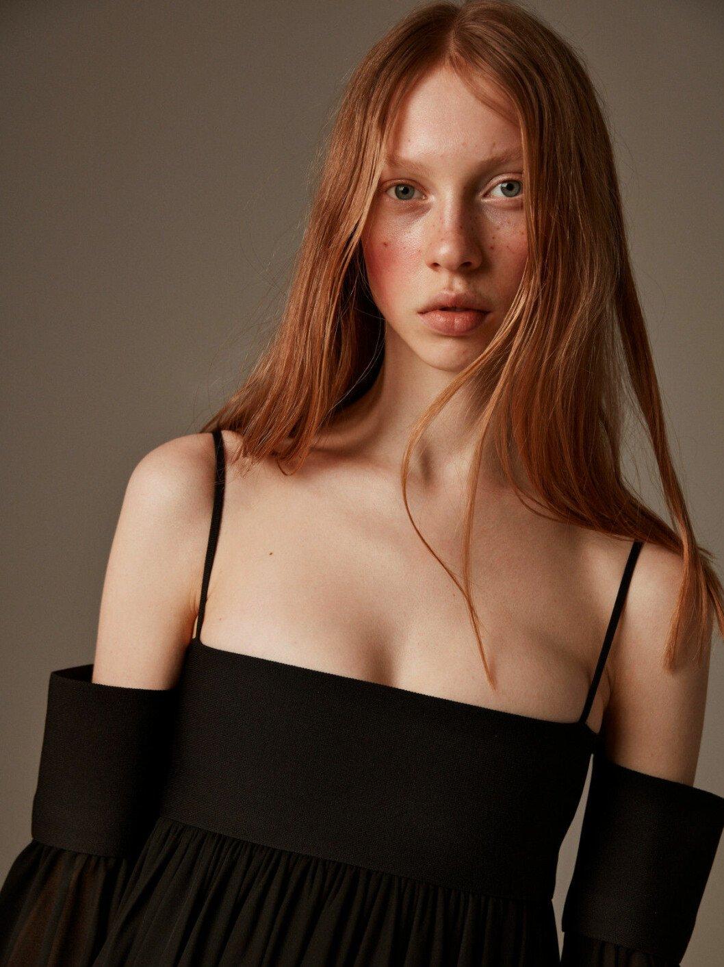 Svart klänning från Céline