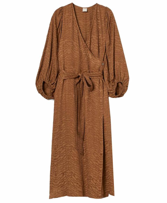 brun klänning