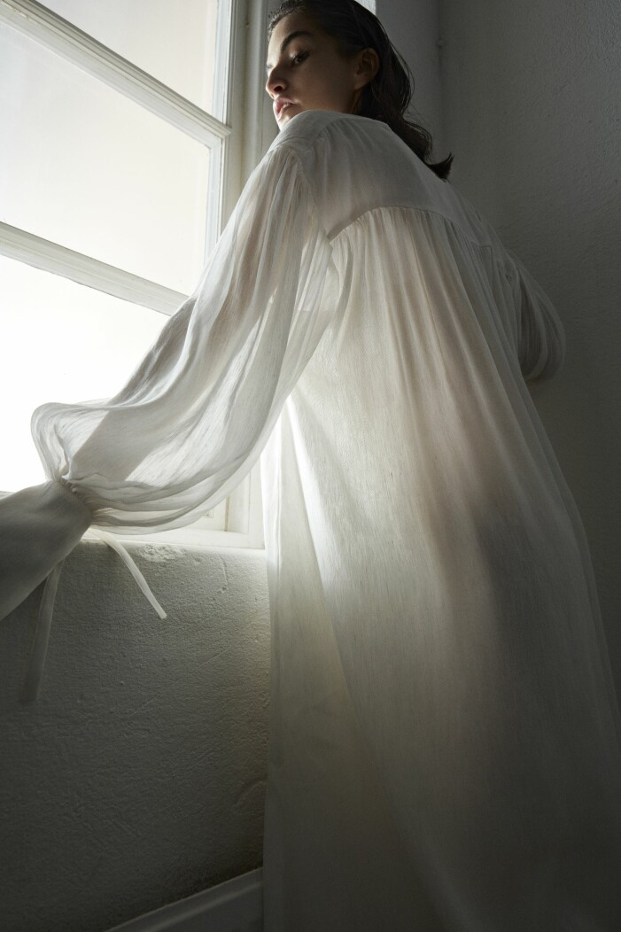 Klänning i siden från Abomé