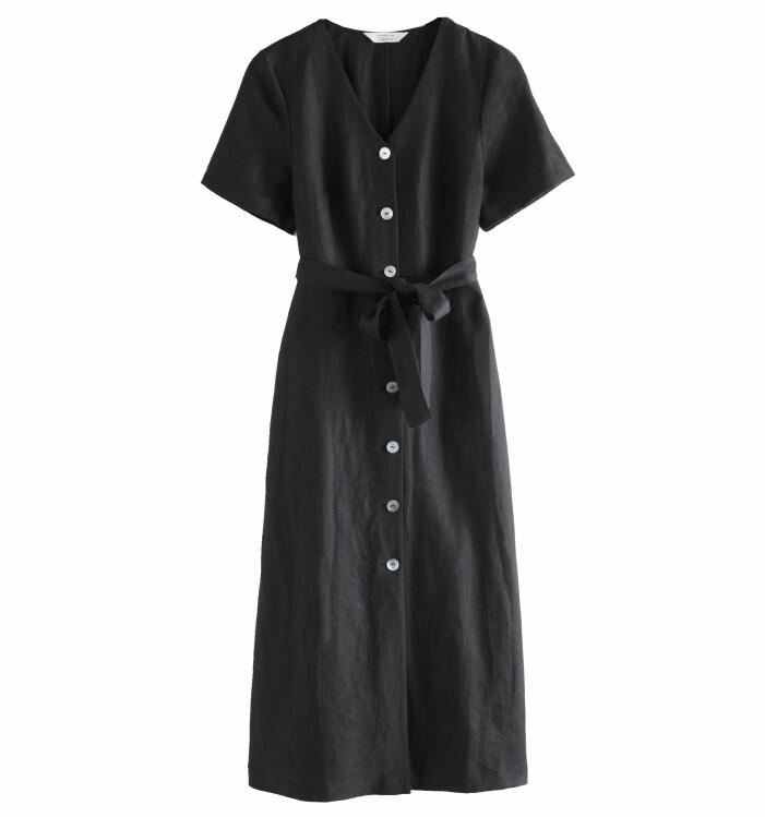 klänning i linne