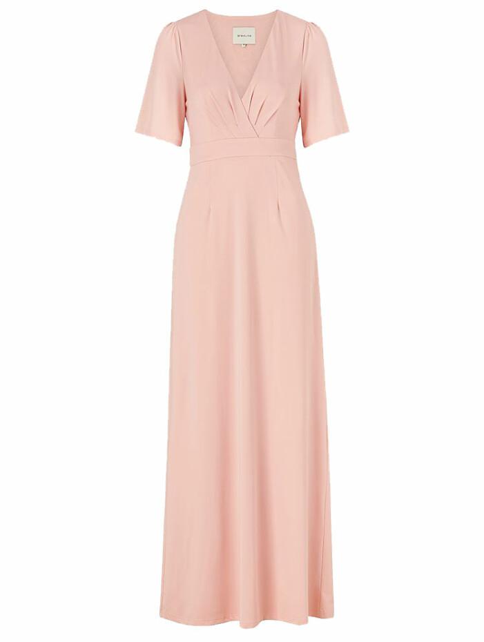rosa klänning by malina