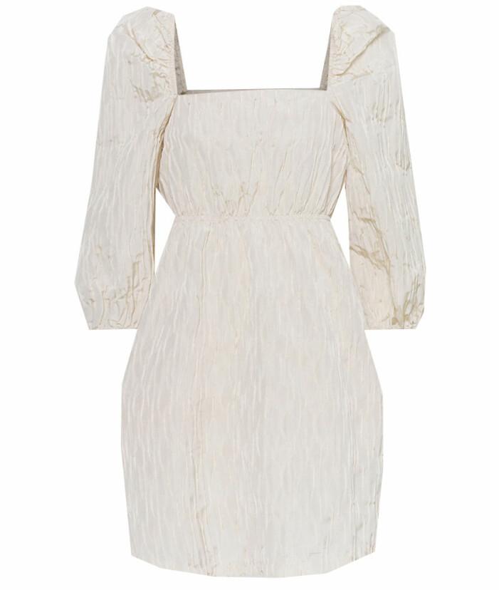 klänning puffärm