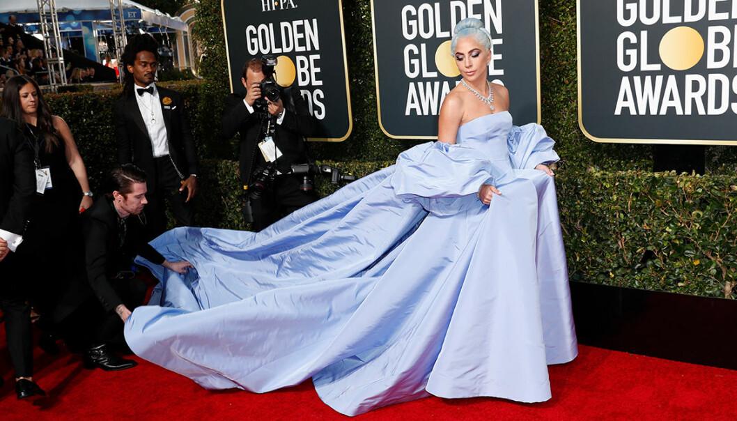 Klänningar Golden Globes