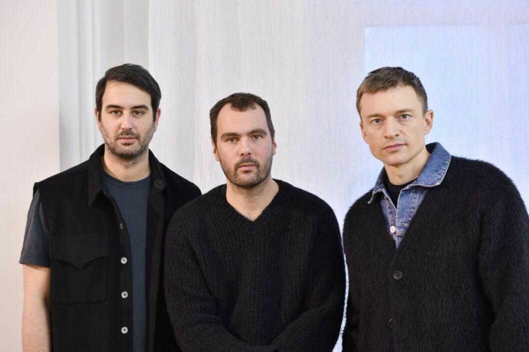Our Legacys grundare Richardos Klarén, Christopher Nying och Jockum Hallin.