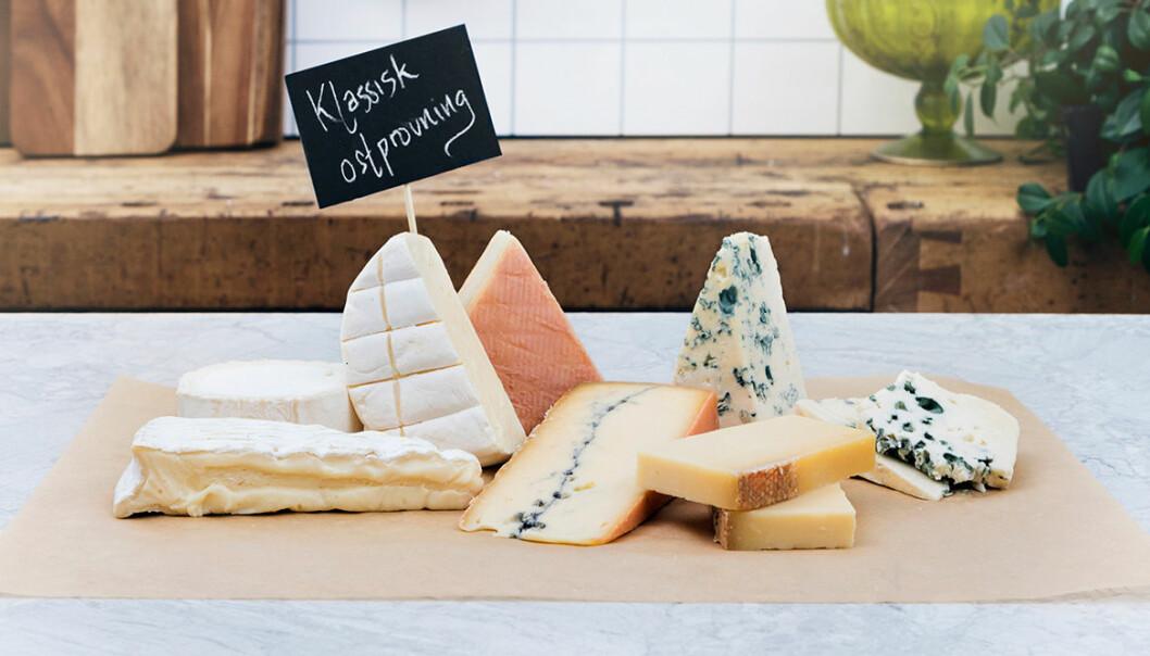 Beställ en klassisk ostprovning online!