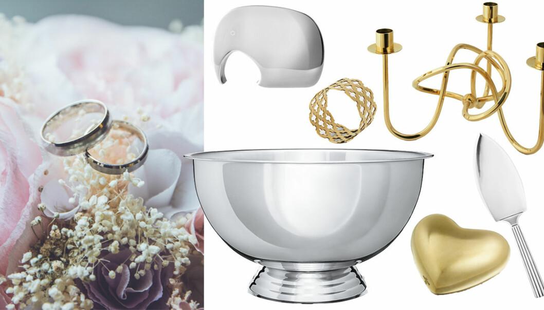 Klassiska bröllopspresenter 2019