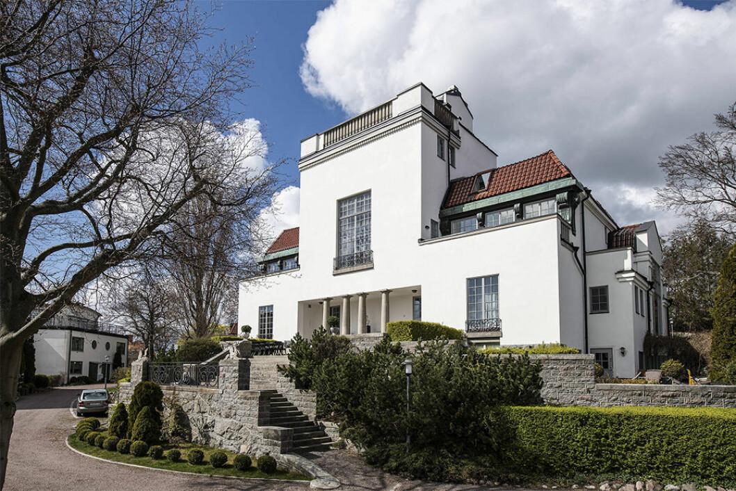 Villa Klippudden på Lidingö
