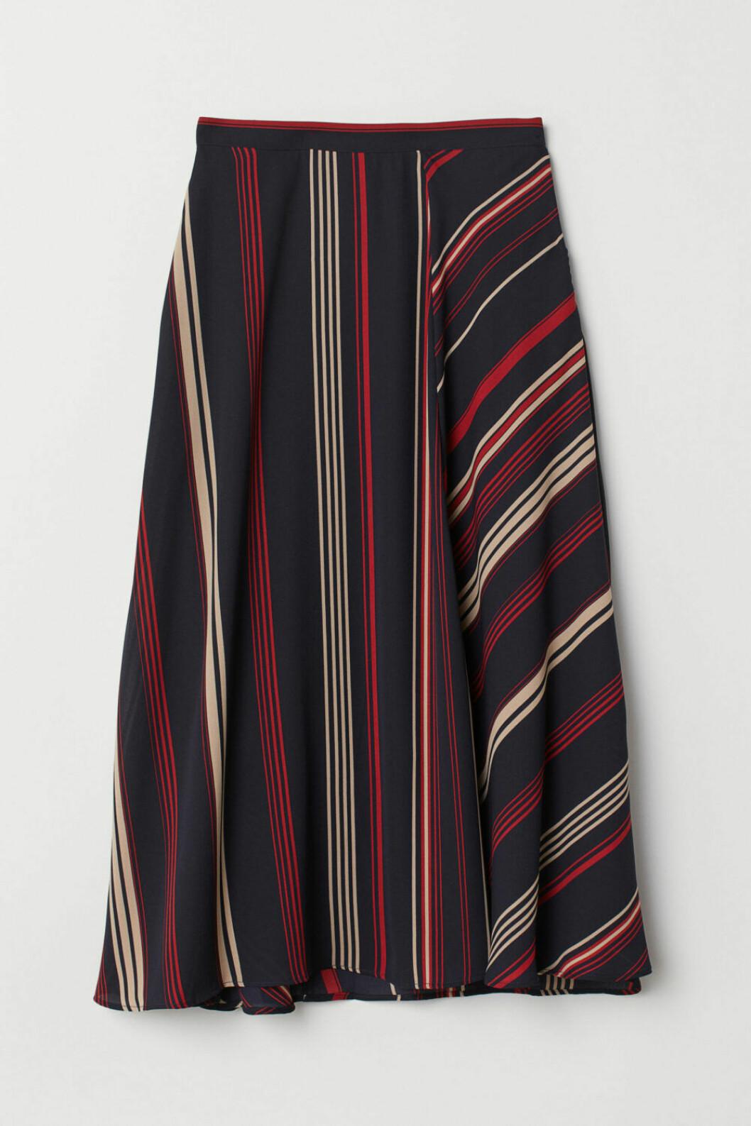 Klockad kjol från H&M