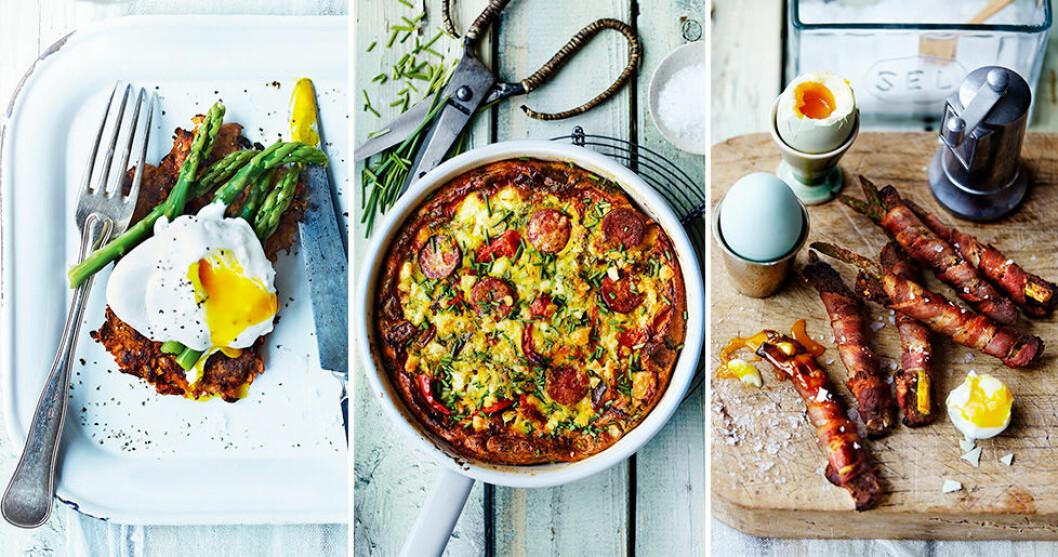 Knäckande goda recept med ägg.