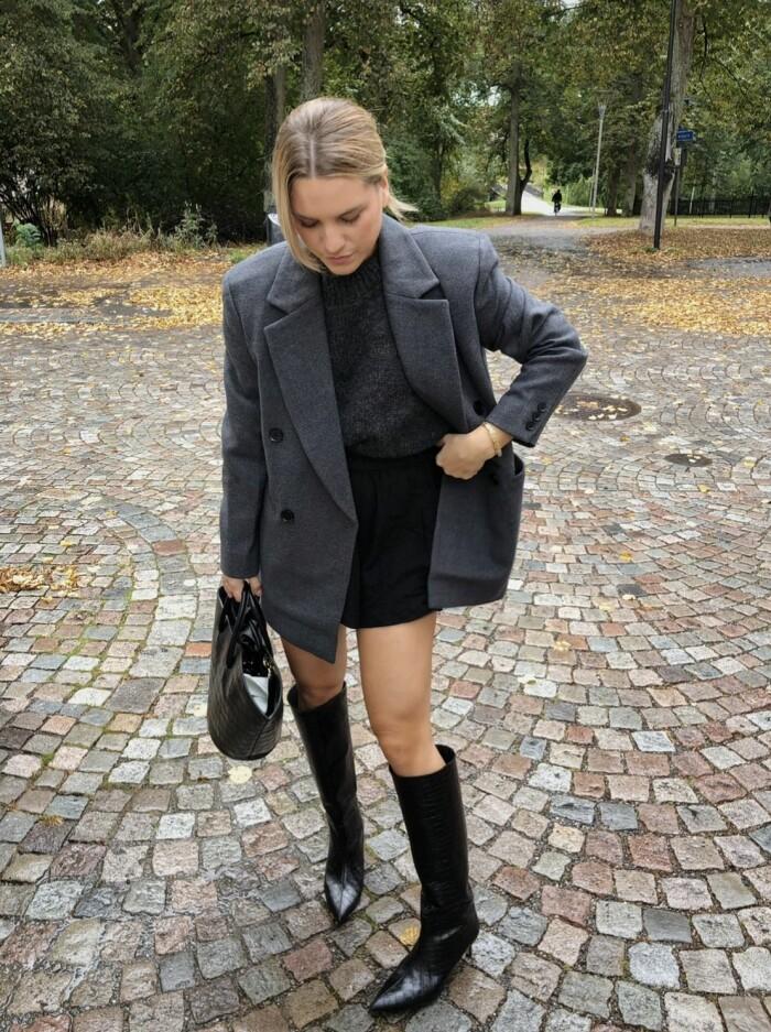 knähöga stövlar Josefine Kanth