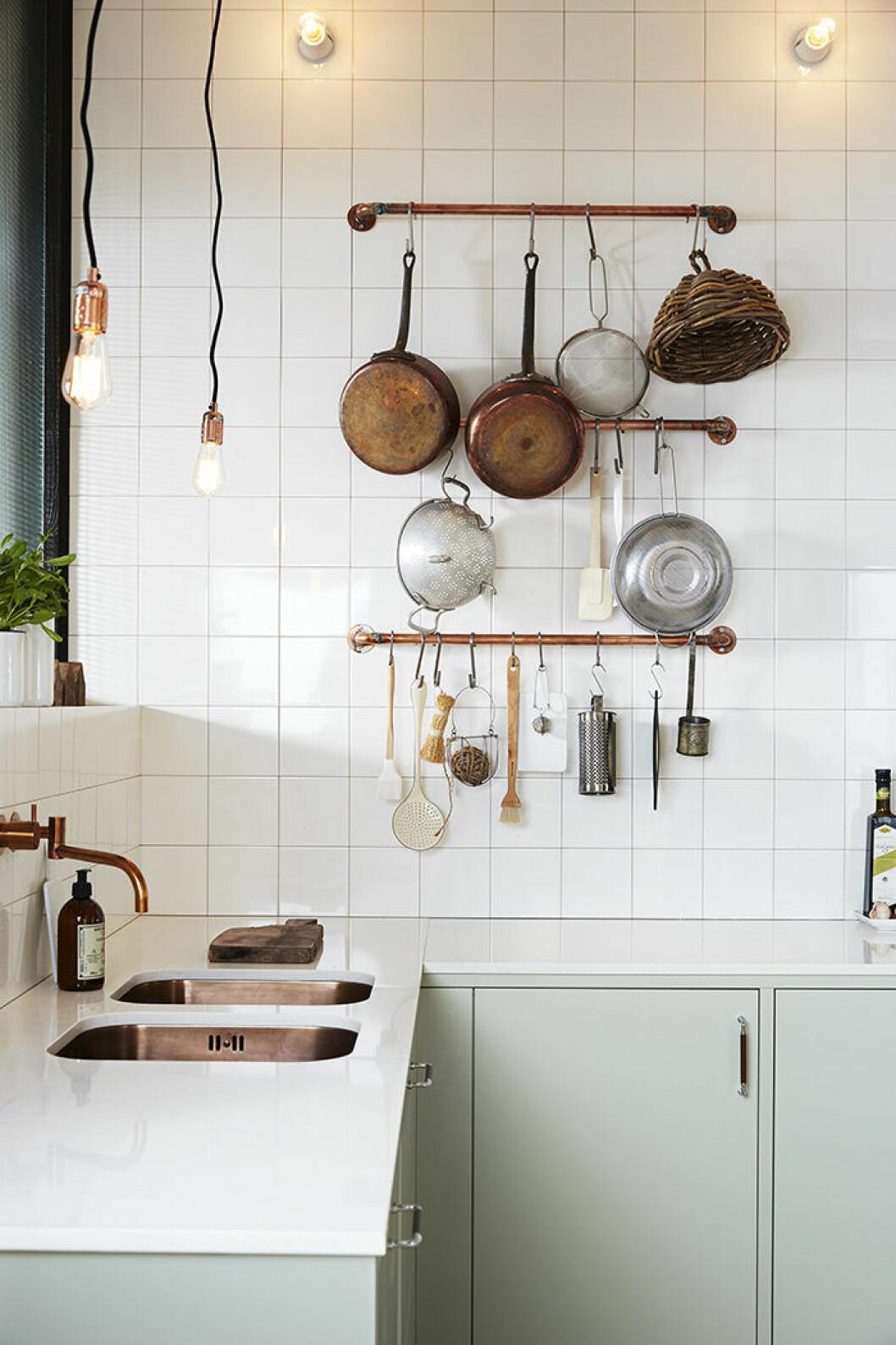 Belysning är viktigt i köket, här hos Ballingslöv