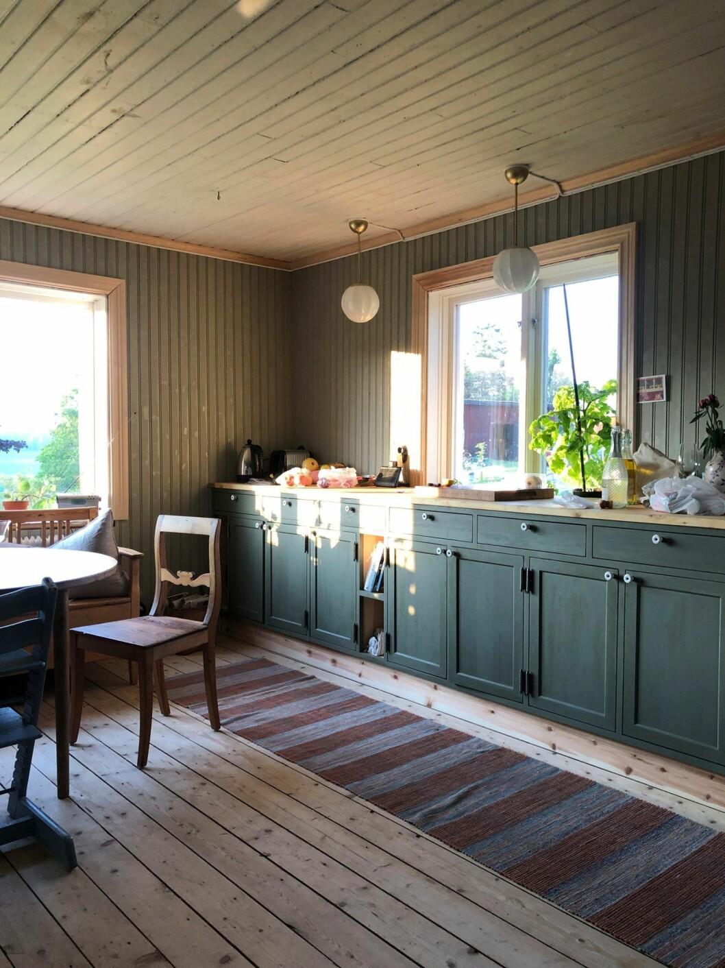 Kök hos Brita Zackari och Kalle Zackari Wahlström
