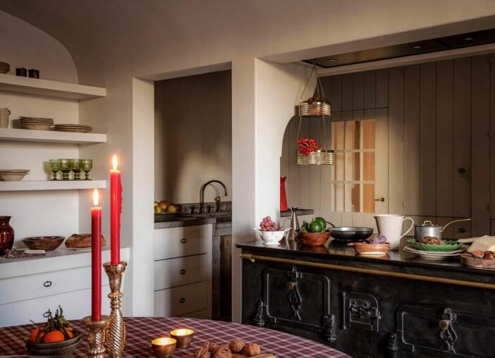 kök med julkänsla på zara home